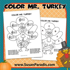 Color Mr. Turkey
