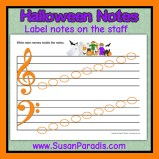 Halloween Notes