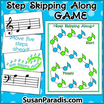 Step and Skip Music Game