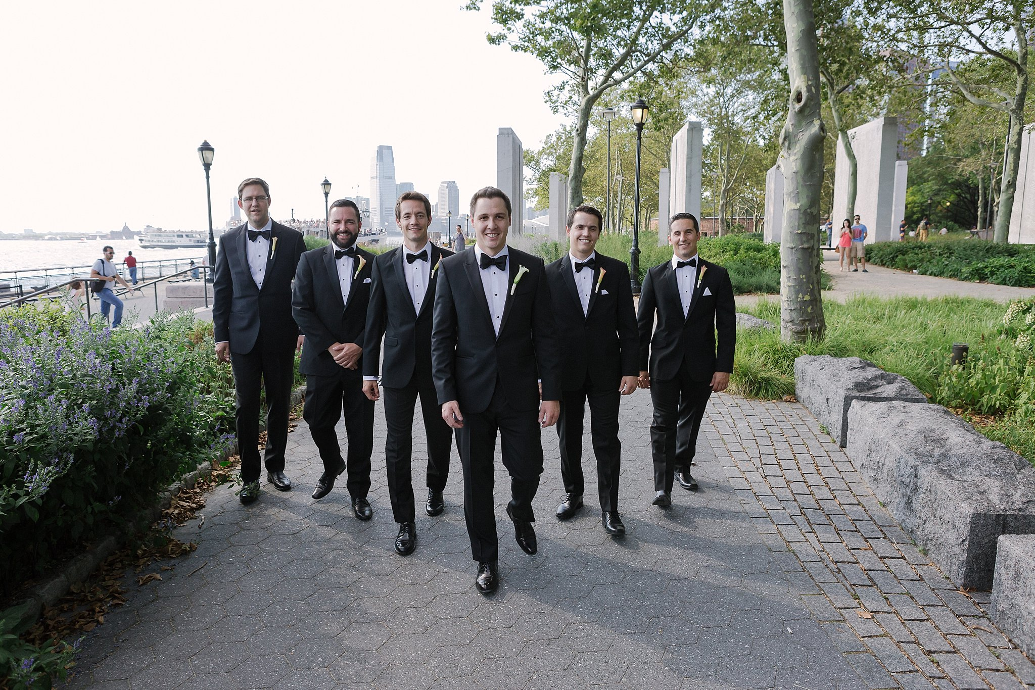 Groom and Groomsmen Portrait Shoot during Susan Shek Wedding Photography