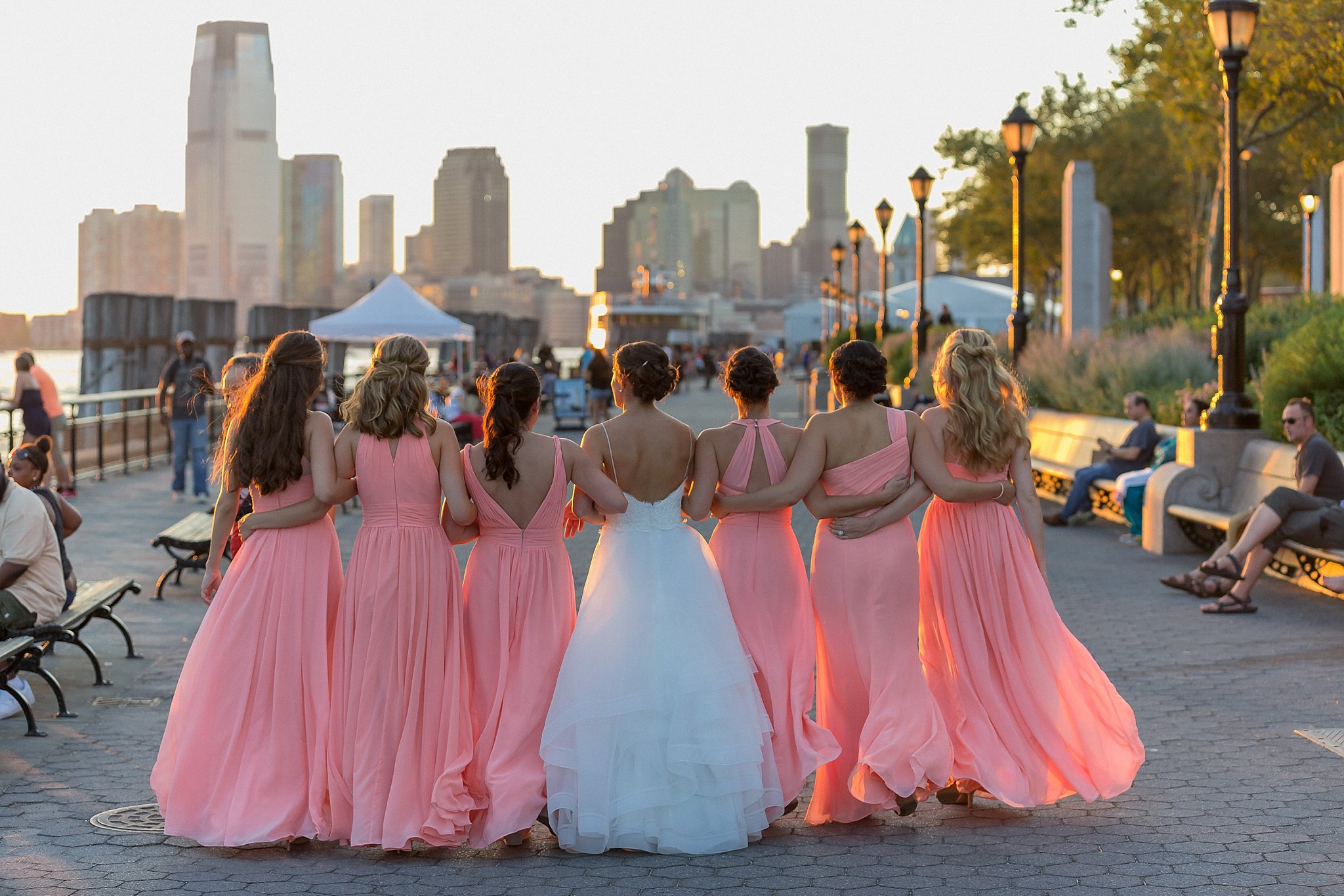 Bride and her bridesmaids session, , photographed by Susan Shek Wedding Photography in New York City, NY.