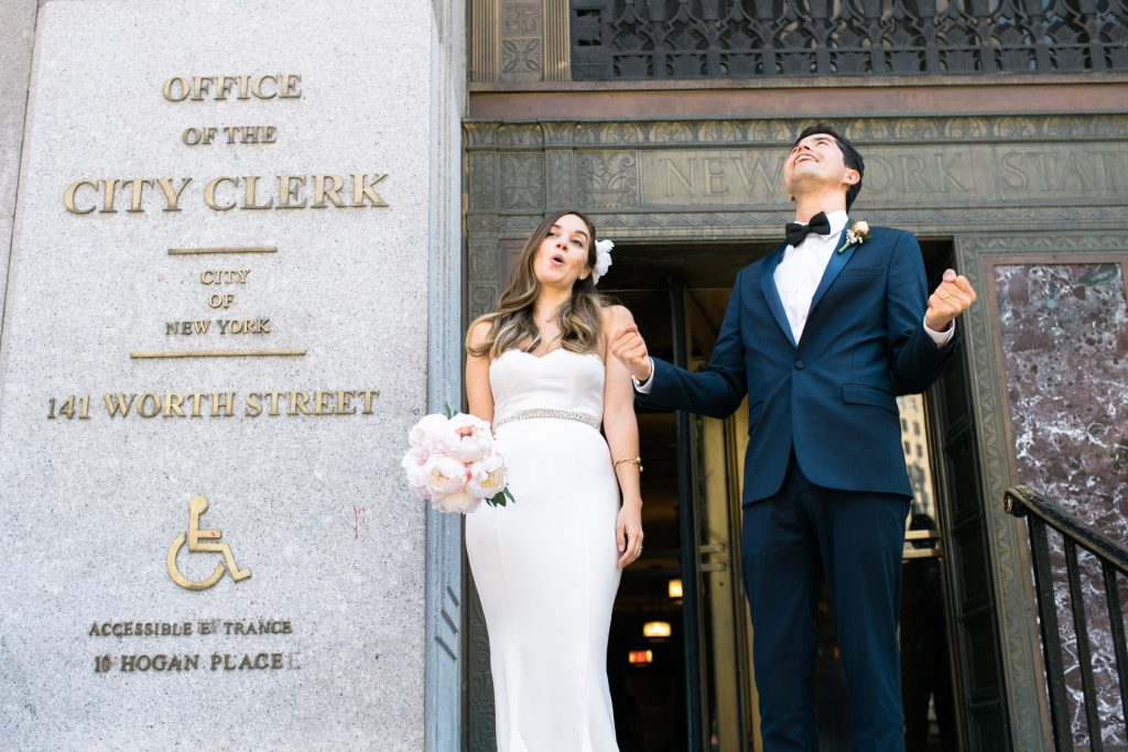 City Hall Weddings NYC Susan Shek