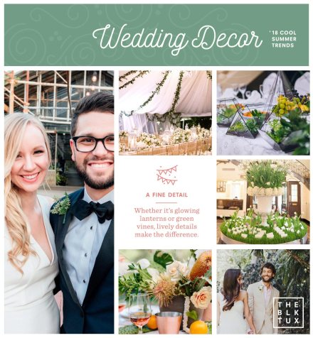 2018 wedding trends The Decor