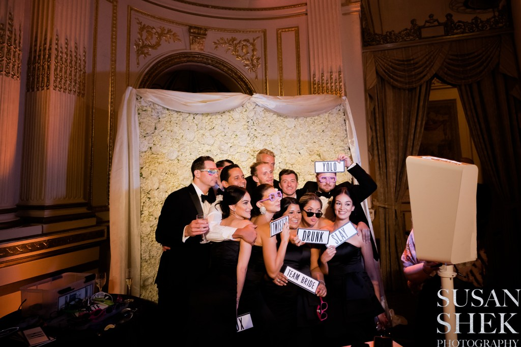 The Plaza Wedding Photo Booth