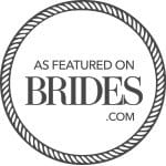 brides magazine featured badge