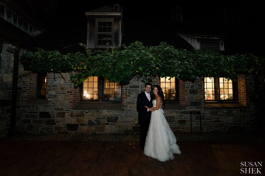 evening portrait at blue hill stone barns
