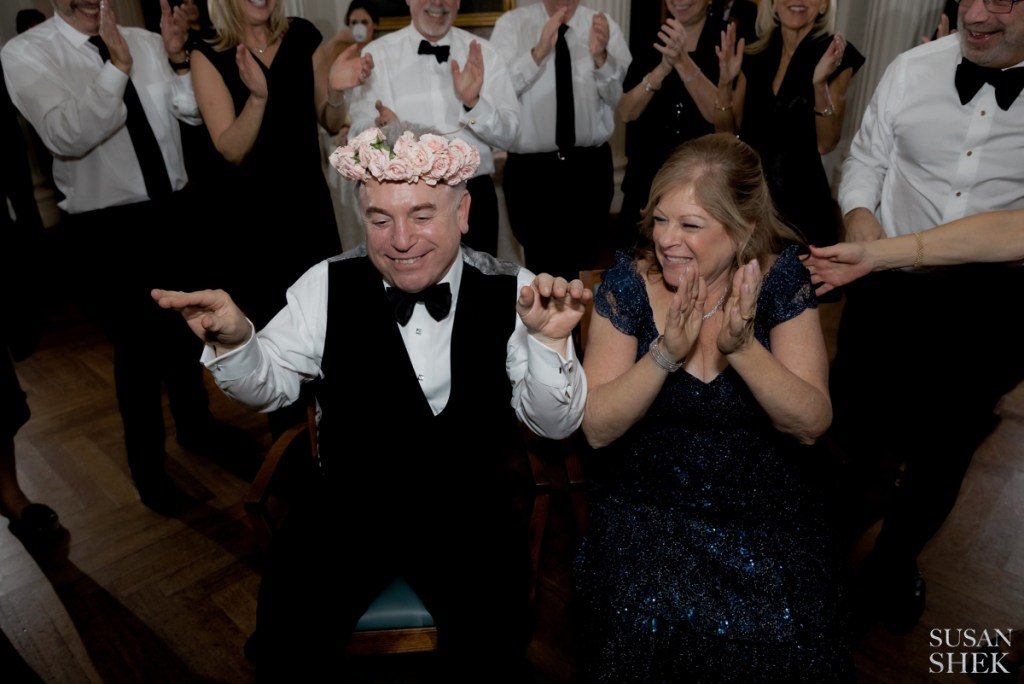 one of my favorites to capture of jewish wedding traditions is the mizinke