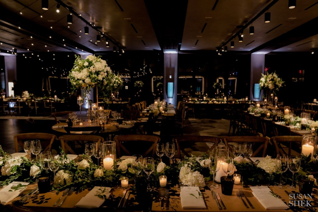Room shot with flowers by Bride and Blossom