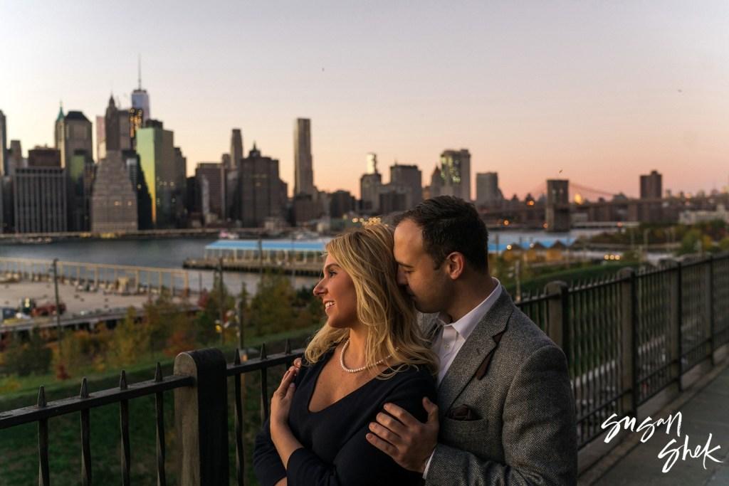 Brooklyn Promenade Engagement Shoot, NYC Engagement Photographer, Engagement Session, Engagement Photography, Engagement Photographer, NYC Wedding Photographer