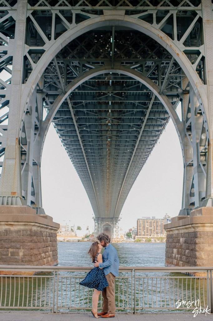 Williamsburg Bridge Engagement Session, Engagement Shoot, NYC Engagement Photographer, Engagement Session, Engagement Photography, Engagement Photographer, NYC Wedding Photographer