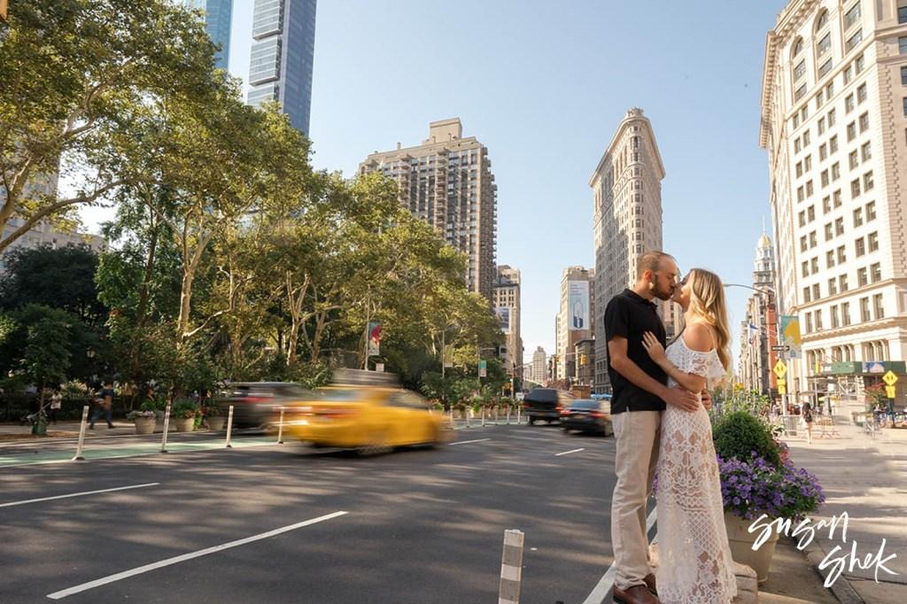 Flatiron Engagement, Engagement Shoot, NYC Engagement Photographer, Engagement Session, Engagement Photography, Engagement Photographer, NYC Wedding Photographer