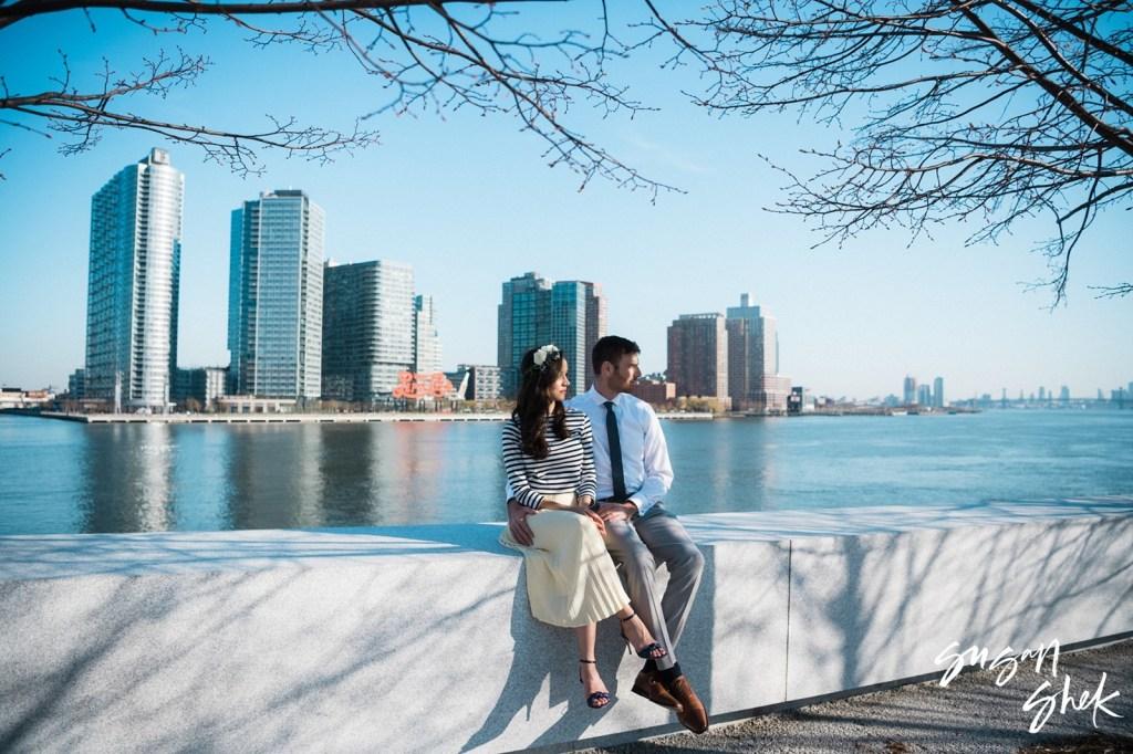 Roosevelt Island Engagement Shoot, NYC Engagement Photographer, Engagement Session, Engagement Photography, Engagement Photographer, NYC Wedding Photographer