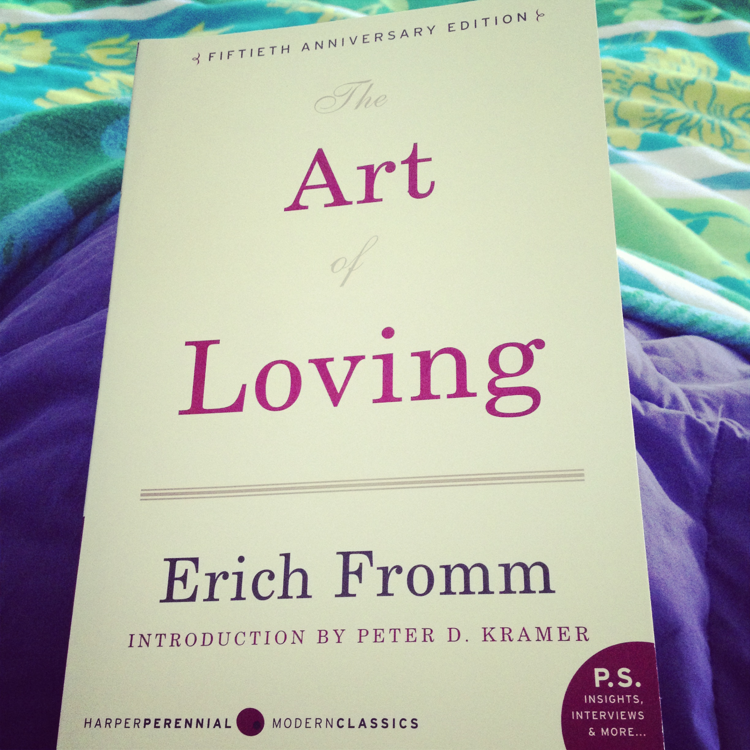 The Art Of Loving Eric Fromm