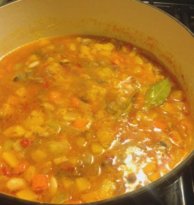 bean squash soup