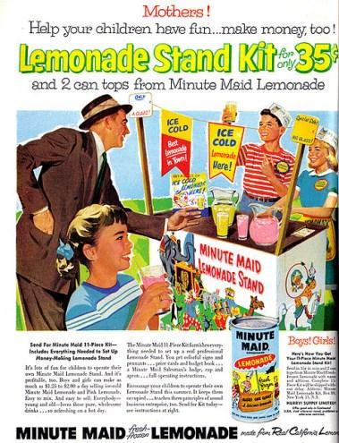 Leomonade Stand ad