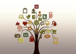 social media tree public domain