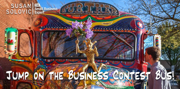 Business Contest bus