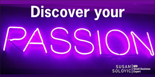 discover your small business passion