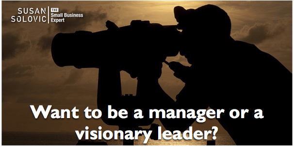 How to be a visionary leader