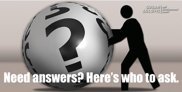 sales reps have answers for small business questions