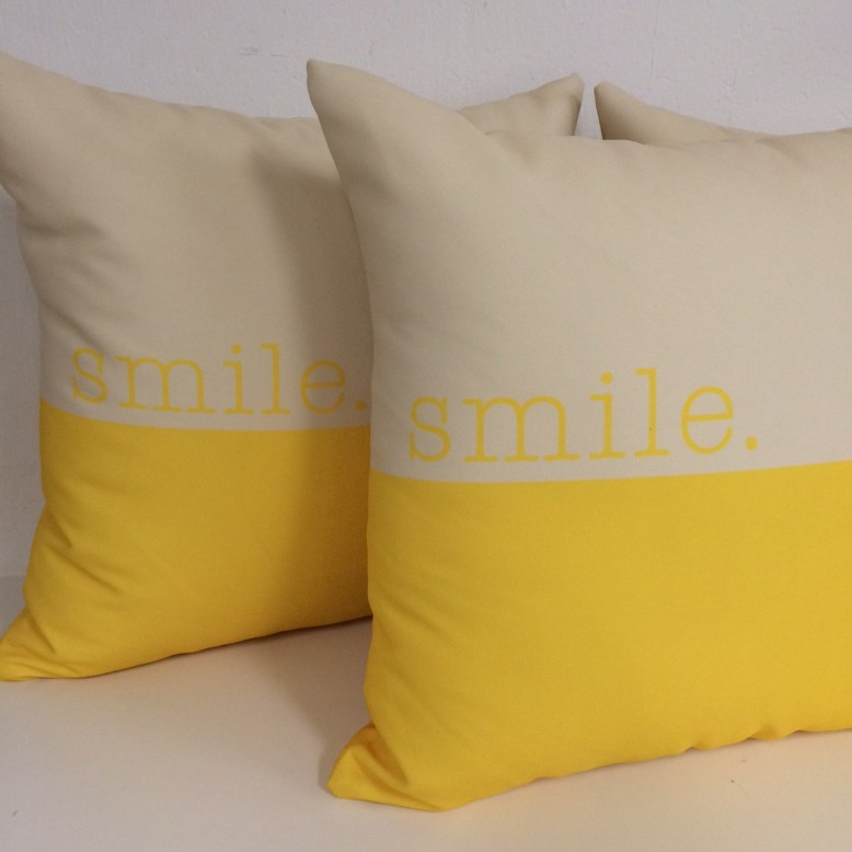 smile pillows