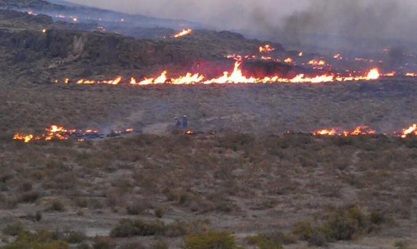 Rush Fire Update: Late Sunday Report on Conditions with ...