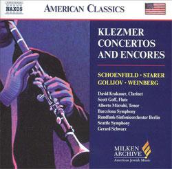 Klezmer Concertos and Encores