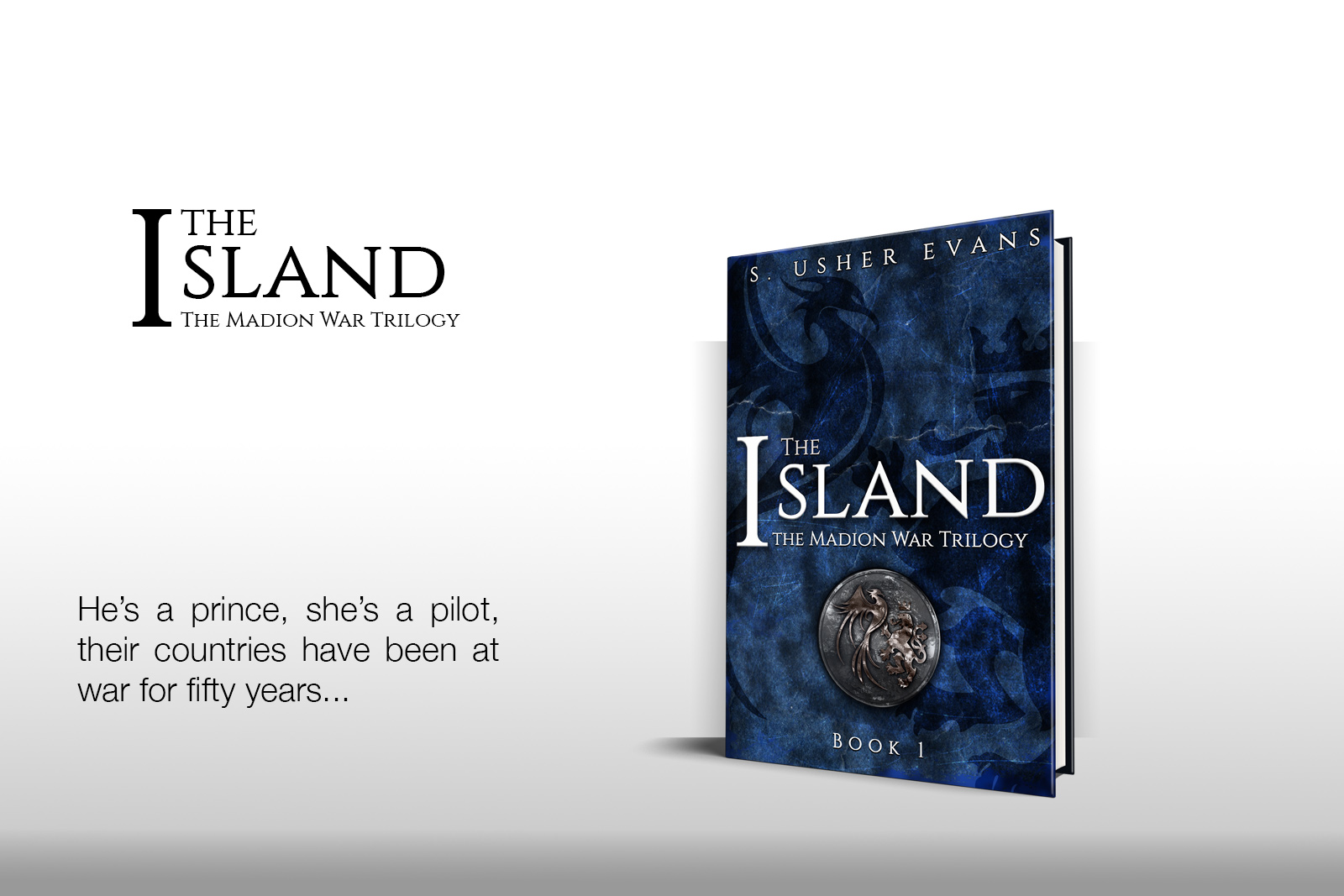 S. Usher Evans, author of The Island and the Madion War Trilogy