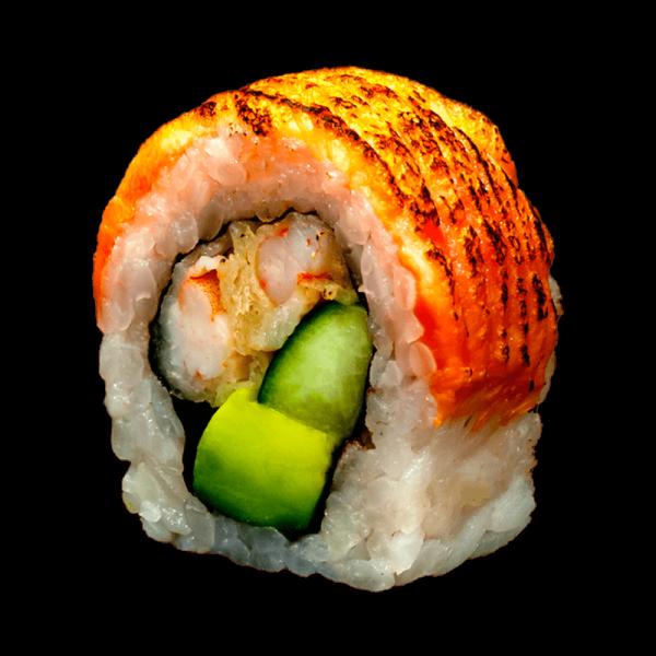 Maki salmón tataki