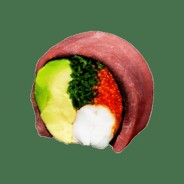 Maki atún sin arroz