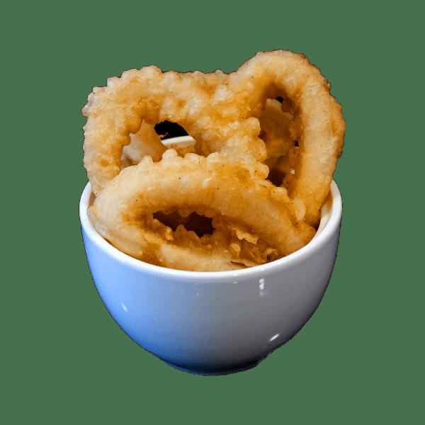 Tempura de calamar
