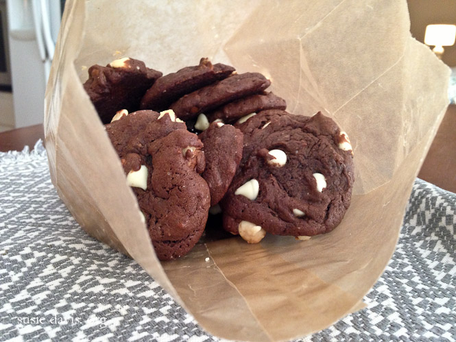 easy double chocolate chip cookie recipe