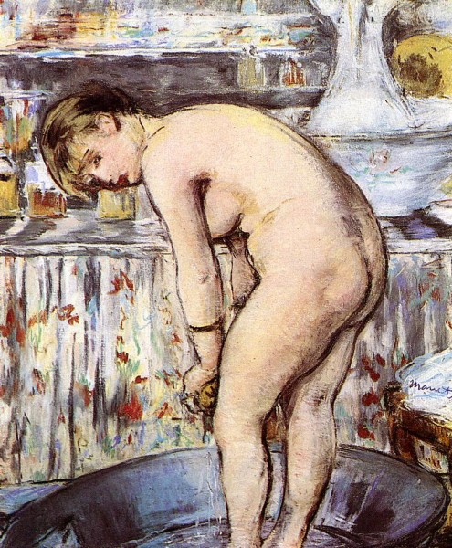 manet woman in a tub 1878