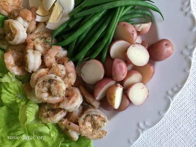 Shrimp Salad Nicoise Susie Davis