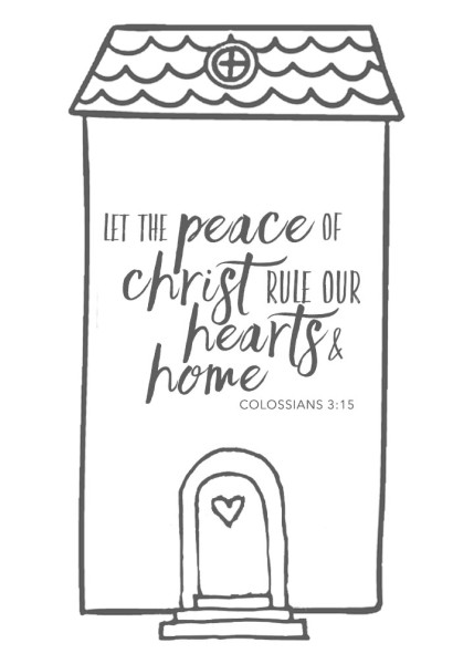 let the peace - house