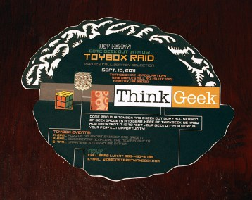 ThinkGeek Invitation