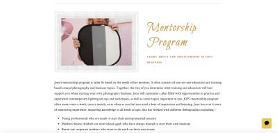 Jennifer Dworek Website Design
