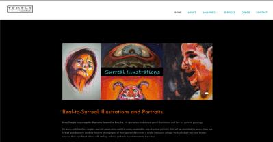 Sean Temple Illustrations Website