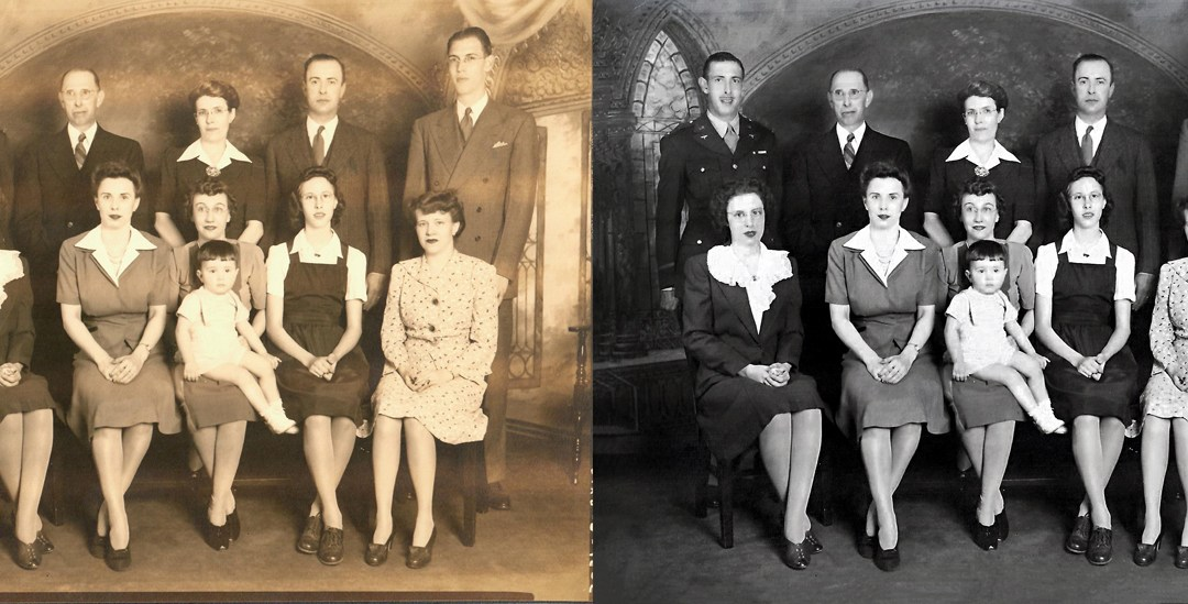 Photo Restoration Projects: Bringing Old Memories to LIFE