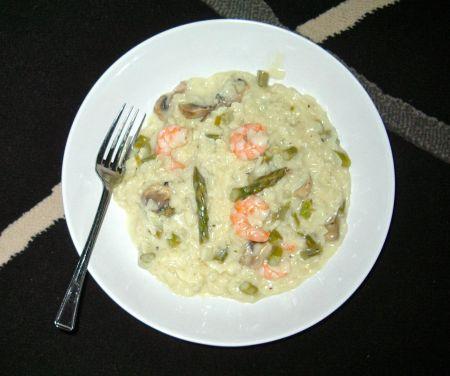 Asparagus & Prawn Risotto