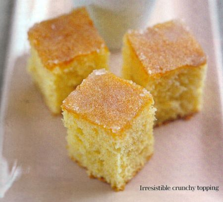 Updated Version Of Lemon Drizzle Cake