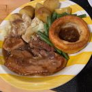 Pork Belly with Yorkshire Pudding