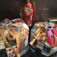 Patchwork Celebration Bags - Antique Japanese Style - Tutorial