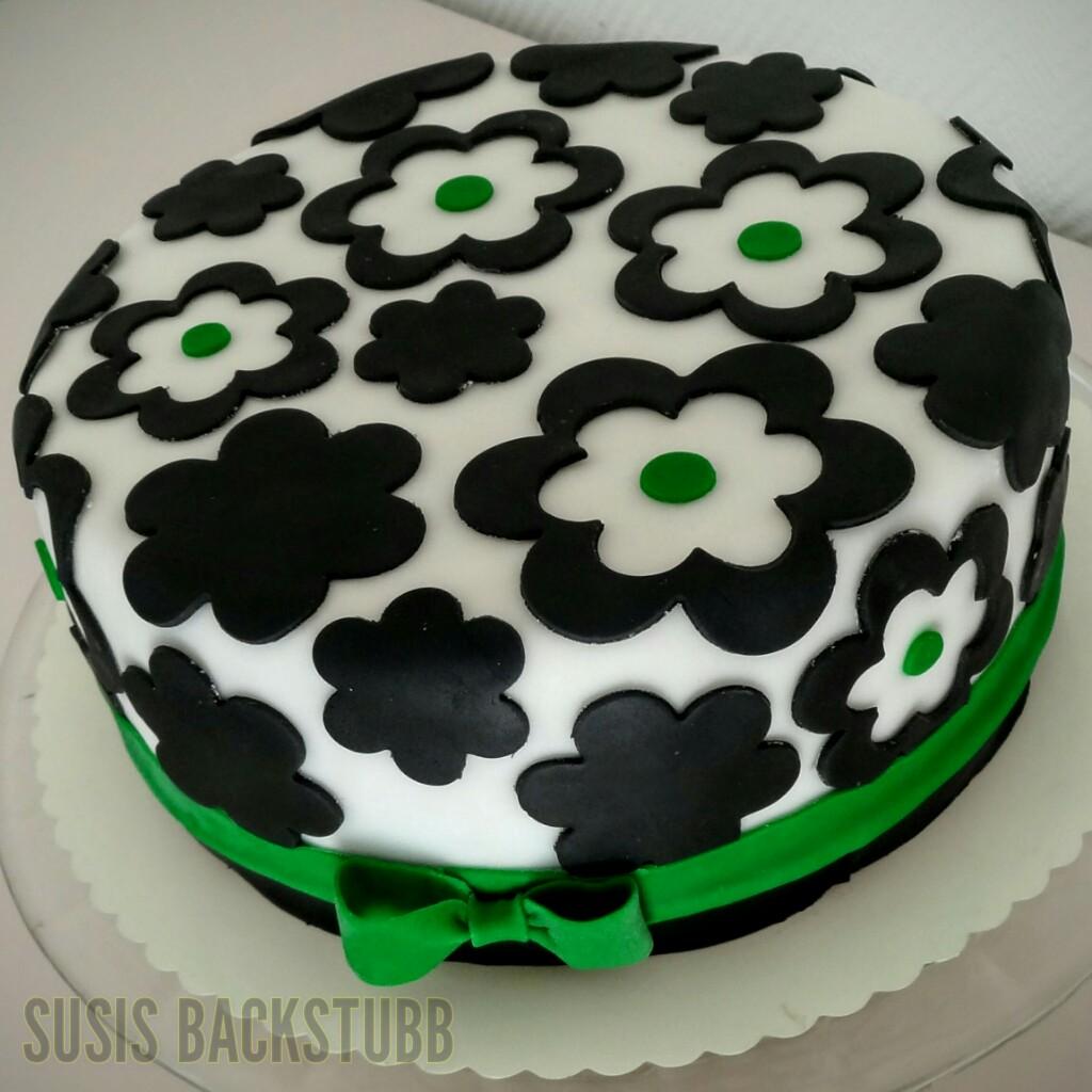 Kuchen Schwarz Weiss Bild