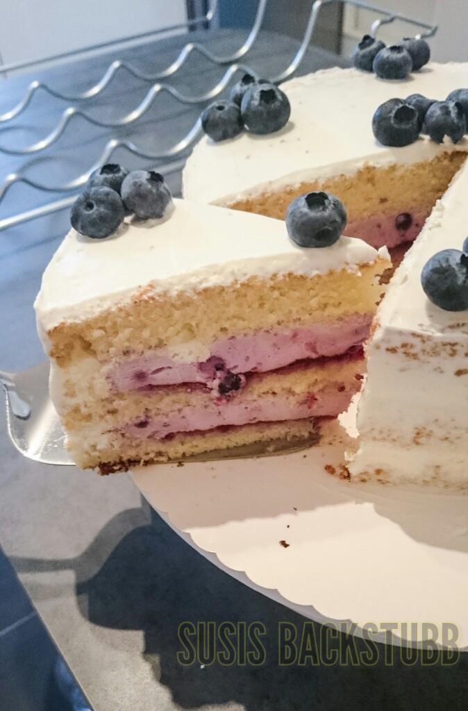 Naked Cake Hochzeitstorte Mit Obst Susis Backstubb
