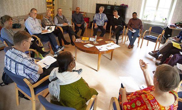 Nätverksmötet på Kväkargården då representanter från Friends of SUS c7bca1dbc5d29