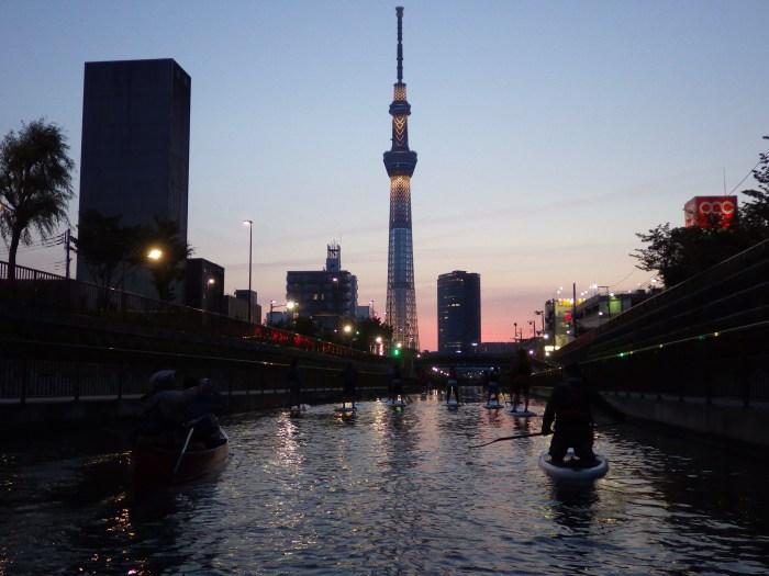 東京sup,スカイツリーナイトsup,スカイツリーsup,東京アウトドア