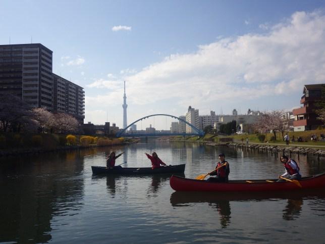 カヌー,tokyo,japan