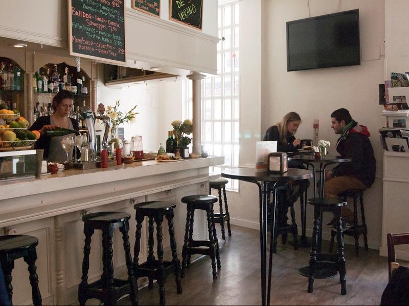 Carmencita Bar a good place for brunch in Madrid