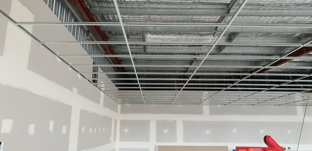 Suspended ceiling in Deception Bay built by suspended ceilings qld